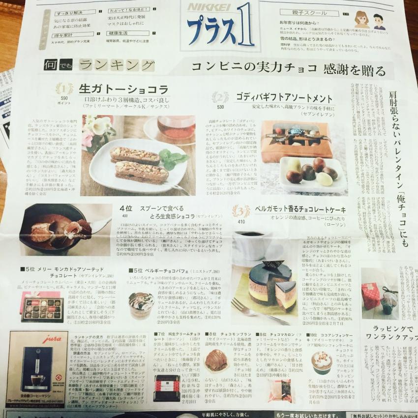 日本経済新聞「NIKKEIプラス1」の審査員。 イメージ1